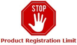 Product Registration Limit