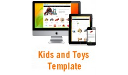 Kids and Toys responsive theme