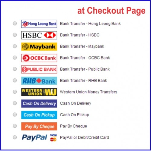 Opencart Mx4 Malaysia Bank Transfer