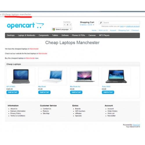 Bing Sitemap Generator: Landing Pages Generator
