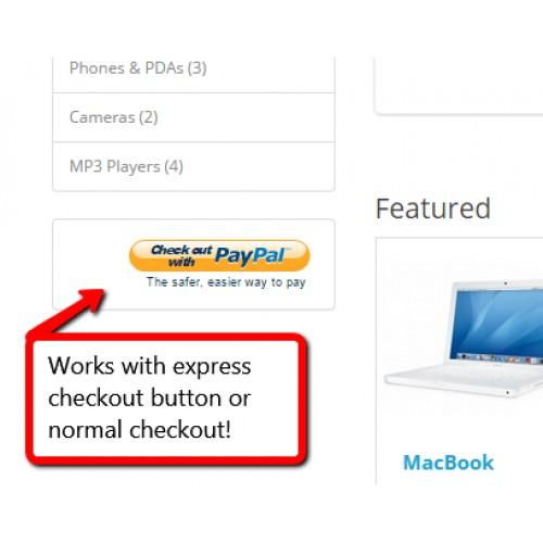 OpenCart - Paypal Express In-Context Enhancement (1 5 6/2 x/3 0)