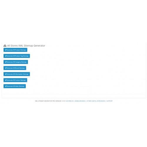 opencart xml sitemap generator pro unlimited links seo url