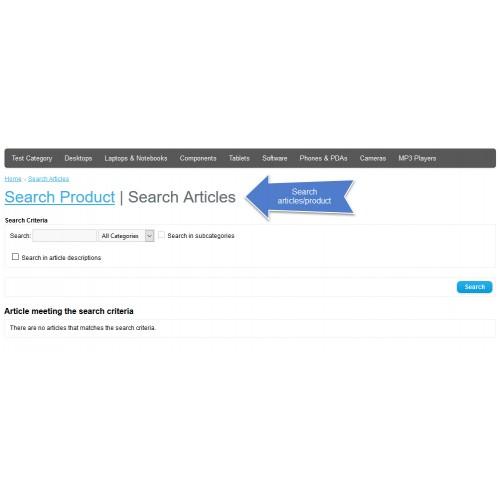 OpenCart - News Free 2