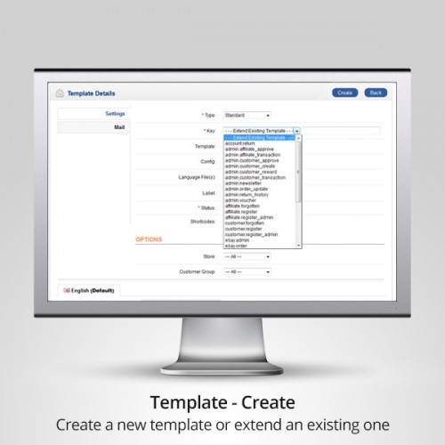 how to create email html template
