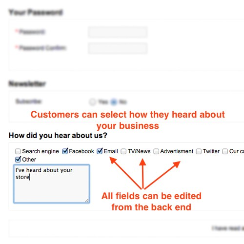 OpenCart - How Did You Hear About Us - lightweight customer origin ...