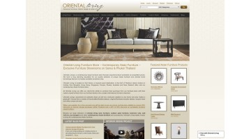 Oriental Living Furniture