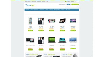 Easycart Responsive and Clean