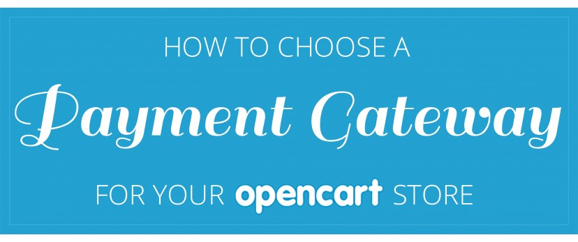 How to choose a Payment Gateway for your OpenCart store