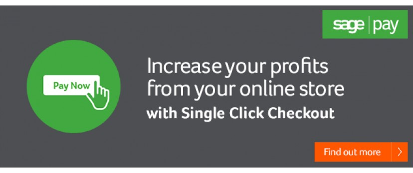 Three ways to increase profits from your online store with single-click checkouts from Sage Pay
