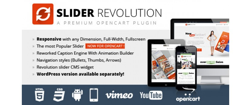 Meet Slider Revolution: An All-Purpose Slide Displaying Solution