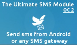 ✔SMS Notification,Template & Contact–And..