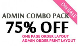 Combo Pack - Admin Order Layout - Invoice Print ..