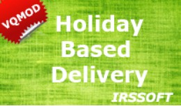 Holiday Based Delivery (vqmod)