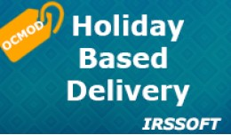 Holiday Based Delivery (ocmod)