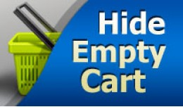 Hide Empty Cart (1.5.x - 3.x)