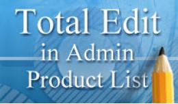 [VQMOD] Total Edit In Admin Product List