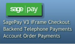 SagePay V3 iFrame Checkout with Telephone Paymen..