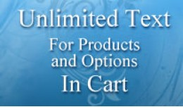 Unlimited Text for Product and Options in Cart (..