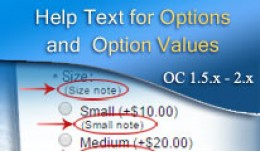 [VQMOD] Help Text for Options and Option Values ..