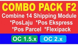 Combo Pack F2 - Pos Malaysia Shipping