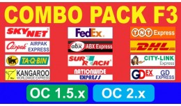 Combo Pack F3 - Courier Service (Weight Based)
