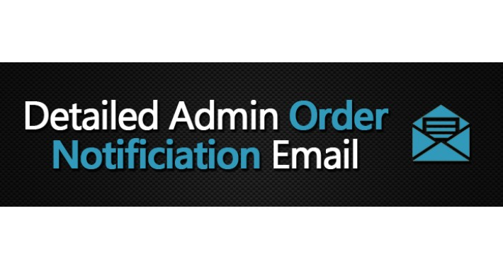 Detailed Admin Order Notification Email (VQMod)