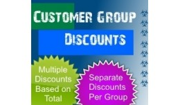 Customer Group Discount/Fee (1.5.x/2.x/3.0)