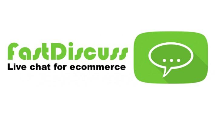 FastDiscuss - live chat for ecommerce
