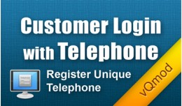 Customer Login with Telephone with Unique Teleph..