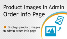 Product Images In Admin Order Info Page