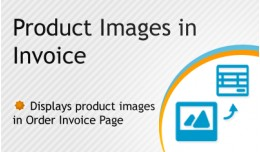 Product Images in Invoice vqmod/ocmod
