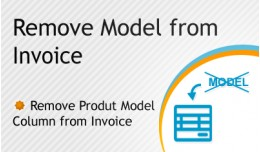 Remove Model from Invoice - FREE