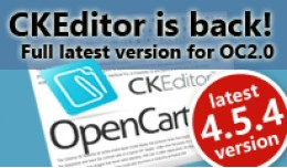 CKEditor is back! FULL++ Latest version 4.5.4 fo..