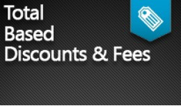 Total-Based Discounts & Fees PRO