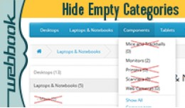 Hide Empty Categories (OCmod)