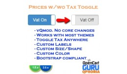 Price Tax Toggle Switch (2.x)