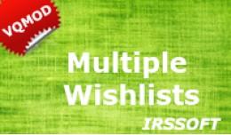 Multiple Wishlists (VQMOD)