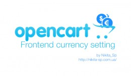 Frontend currency