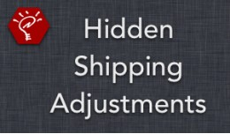 (1.5.x) Hidden Shipping Adjustments