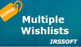 Multiple Wishlists (OCMOD)