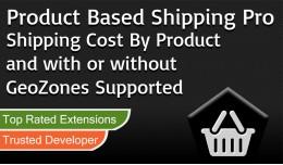 Product Based Shipping Pro