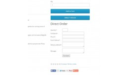 DIRECT ORDER ON PRODUCT PAGE