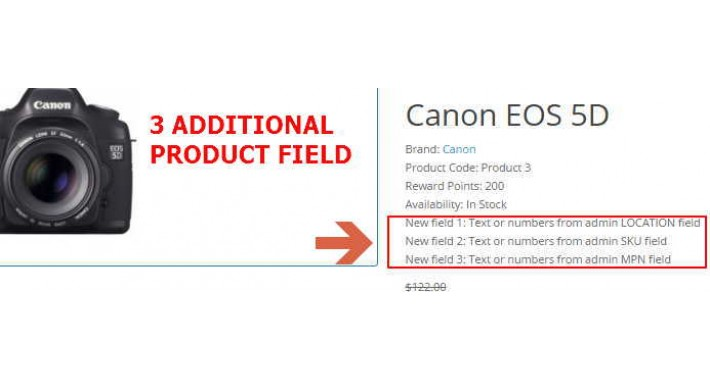 3 Additional product field