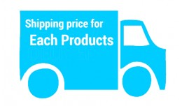 Shipping Price For Each Product