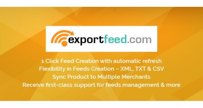 Opencart Product Export: Google Merchant, Amazon, eBay, CSV/XML