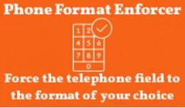 Telephone Field Format Enforcer