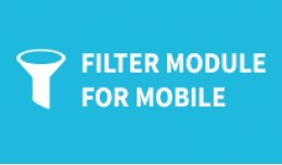 Filter module for mobile view
