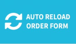 Order form shipping and payment method auto refr..