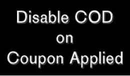 Disable COD on Coupon Used