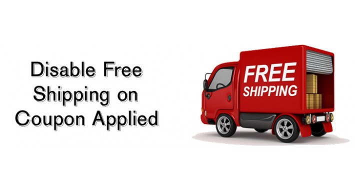Disable Free Shipping on Coupon Used
